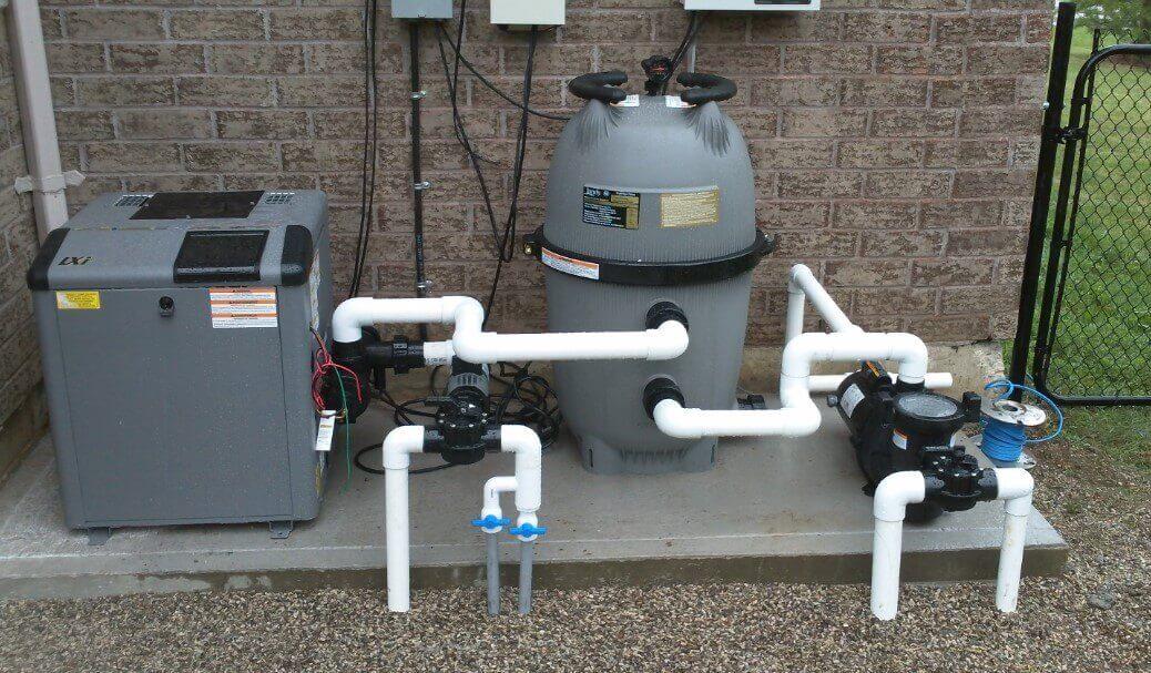contoh sistem filter kolam renang