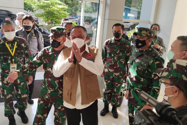 Ganip Warsito Selaku Ketua Satuan Satgas COVID-19 Terus Berusaha Mengoptimalkan Fungsi Posko PPKM Mikro