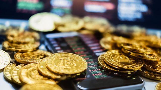 harga bitcoin terkini turun hingga ke level US$ 32.000,