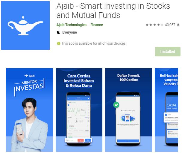 aplikasi saham ajaib