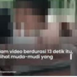 Viral Video 13 Detik Sepasang Kekasih di Sragen